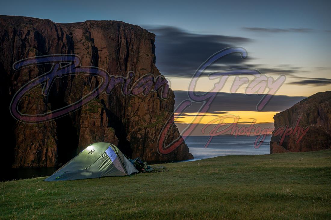 Hams campsite